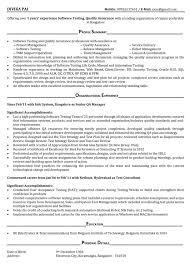 ... Fashionable Ideas Mobile Testing Resume 2 Testing Resume Sample ...