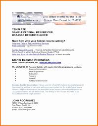 Usajobs Resume Format Awesome Federal Sample And The Place Kathryn