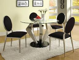 superb black and silver dining chair dining tables round dining table sets round dining table set