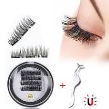 <b>Shozy</b> 3D <b>handmade</b> 4 magnets eyelashes magnetic lashes <b>natural</b> ...