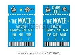 Movie Ticket Template Movie Ticket Templates For Word To Design Free