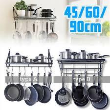kitchen pot pan rack saucepan holder