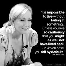 Jk Rowling Quotes Simple 48 Magical JK Rowling Quotes And How She Overcame Adversity