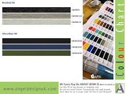 Fiat 500 Colour Chart Fiat Wrap Colours Kent Angel Design Uk
