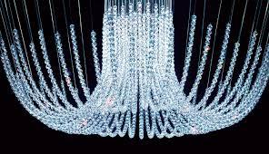 graceful swarovski chandelier 16 crystal chandlier4