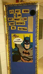 Superhero Classroom Door Batman Classroom Setup Boards Super