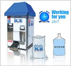 Water Ice Machine Vending