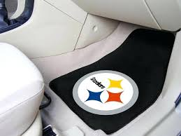 pittsburgh steelers car seat covers x auto floor mat set of 2 car mats nfl pittsburgh