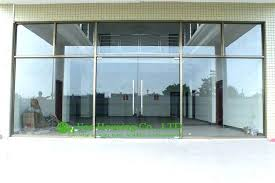 glass front door for business glass front door for business interior commercial glass front doors awesome