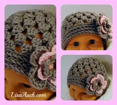 Baby Beanie Crochet Pattern Fascinating Cute Baby HAT In Cluster Stitch Interweave