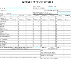 Expense Report Template Excel Free Monthly Expense Report Form Report Template Monthly Business