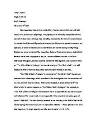 the canterbury tales the wife of bath s prologue discussed  page 1 zoom in