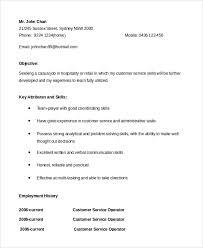 Sample Customer Service Representative Resume 7 Examples
