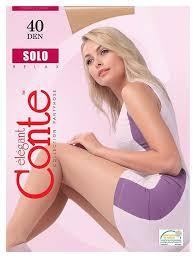 <b>Колготки</b> женские SOLO 40 MOCCA <b>Conte</b> (12 шт) - купить по ...
