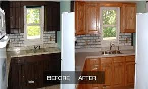 reface kitchen cabinets before and after world of craft