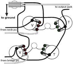 mod garage a flexible dual humbucker wiring scheme on silvertone single pickup wiring diagram