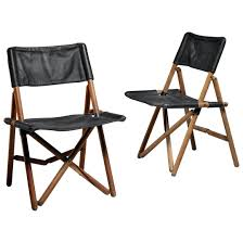 folding chair leather pair of leather folding chairs by for for vintage wooden folding chair