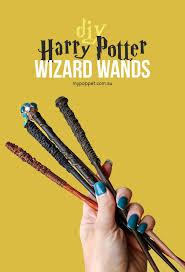 diy harry potter wands for little