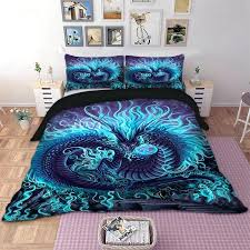 dragon bed sets cool dragon bedding set animal duvet cover quilt cover bed pillow cases twin dragon bed sets