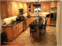 Kitchen Floor Design Ideas Simple Dark Oak Cabinets Mainistirhousearan