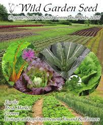 garden seed catalogs. Wild Garden Seed Catalog: 2009 Catalogs R