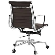 eames aluminum office chair. ribbed back, eames aluminum, office chair, modern, mid-century, midcentury · view larger chair aluminum