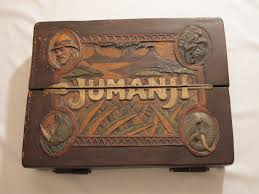 Jumanji Wooden Board Game Original ScreenUsed Jumanji Board SOLD Joe Johnston 12