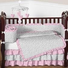 baby pink bedding baby girl crib bedding