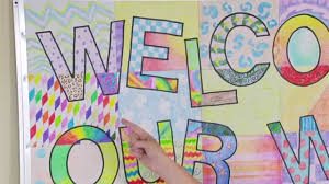 Welcome Chart Images Ellison Education Video Series Welcome Banner Bulletin Board