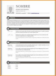 7 Exemplos De Cv Word Mael Modern Decor