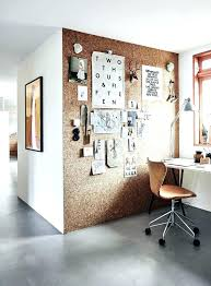 cork wall panels modern home office workspace featuring a cork board wall and leather chair contemporary cork wall panels