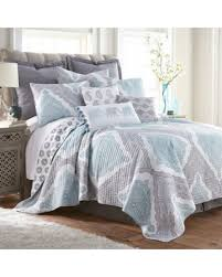 white queen quilt set. Brilliant Queen Levtex Home Grace Reversible FullQueen Quilt Set In GreyWhite Intended White Queen F