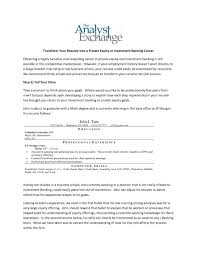 Sample Resume For Banking Operations Real Estate Investment Resume Sample Sidemcicek 22