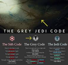 The new Star Wars: The Last Jedi trailer hints that Luke or Rey will  probably be Gray Jedi. The Gray Jedi believe in balance… | Grey jedi, Star  wars, Star wars jedi