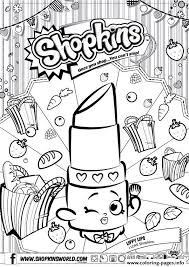 Shopkins Printable Coloring Pages Color Bros
