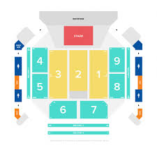 Moa Seating Chart Seating Plans Motorpoint Arena Cardiff