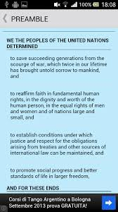 united nations charter android apps on google play united nations charter screenshot