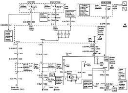 1998 chevrolet blazer blower motor control module circuit diagram