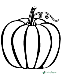 View and print full size. Pumpkin Coloring Pages