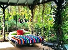 canopy swing outdoor bed swinging beautiful lively australia o