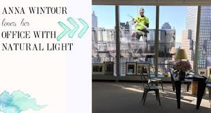 anna wintour vogue office natural light anna wintour office google