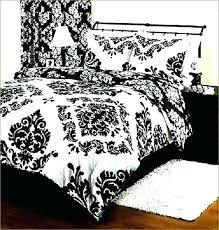gray damask comforter bedding black and white target viola set damas