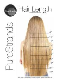 Hair Length Chart Women Hair Length Fashion Dresses
