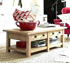 tanner coffee table pottery barn tanner coffee table metropolitan home extraordinary cons tanner round coffee table