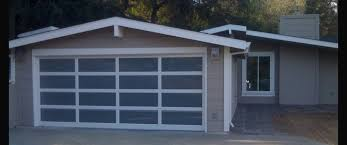 modern contemporary garage doors