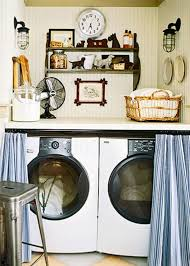 Small Laundry Room Ideas : Cool Small House Interior Design Photos  Inspirations