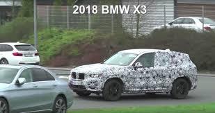2018 BMW X3 Look Bigger Than Original X5, Undergoes Testing at the ...