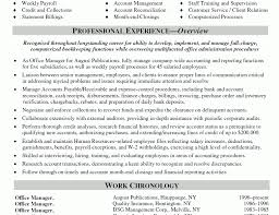 Modest Design Office Manager Resume Sample Office Manager Resume