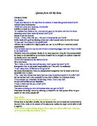 quotes from all my sons a level english marked by teachers com page 1 zoom in