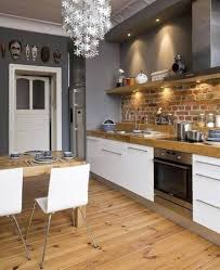 Brick Kitchen Floors Uncover The Strong Simple Beauty Of Exposed Brick Wall Styles